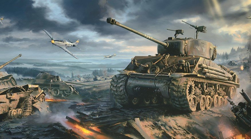 World of Tanks ANIMATED WALLPAPER - Живые обои Игры